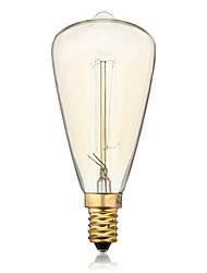 cheap -ST48 E14 40W Incandescent Vintage Light Bulb for Household Bar Coffee Shop Hotel (AC220-240V)