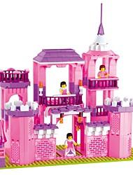 abordables -WOMA Blocs de Construction Blocs Militaires 1035 pcs Château Maison Cheval compatible Legoing Nouveautés Fille Jouet Cadeau