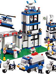 abordables -WOMA Blocs de Construction Blocs Militaires Jeu de construction Jouets 832 pcs Maison Soldier compatible Legoing Nouveautés Garçon Fille Jouet Cadeau / Jouet Educatif