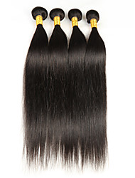 cheap -malaysian virgin straight hair weave 4 bundles remy human hair extensions nature color mixed length 8 26 inch 200g