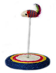 Недорогие -Интерактивный Дразнилки Игровая мышь Игрушка для мышей и животных Кошка Животные Игрушки Когтеточка Мышь сизаль Подарок
