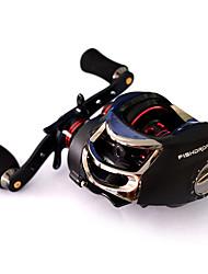cheap -Fishdrops Baitcast Reels Gear Ratio 7 0 Right Handed 18 Ball Bearings Sea Fishing Ox