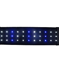 cheap -Aquarium Aquarium Decoration / LED Light White / Blue Energy Saving LED Lamp 220 V V Plastic