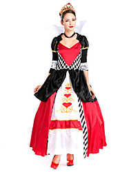cheap -Princess Cosplay Costume Halloween Oktoberfest Beer Festival / Holiday Terylene Carnival Costumes Patchwork