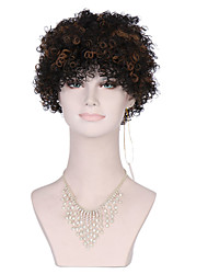 cheap -kinky curly synthetic wigs for black brown women afro wig curly synthetic wigs cheap hair for women sale Halloween