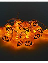 Недорогие -хэллоуин тыква строка призрак фары светодиодные фонари 16 патрон