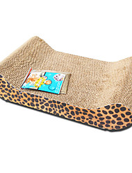 cheap -Interactive Cat Cat Toy Scratch Pad Wood Gift Pet Toy Pet Play