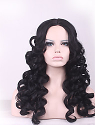 cheap -high quality realistic women wig cap heat resistant u part afro kinky curly wig synthetic hair Halloween