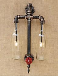 cheap -Rustic / Lodge Wall Lamps & Sconces Metal Wall Light 110-120V / 220-240V 3W / E27