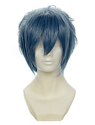 cheap -Cosplay Costume Wig Synthetic Wig Cosplay Wig Straight Straight Wig Grey Synthetic Hair Women's Gray