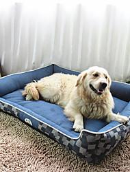 cheap -Cat Dog Mattress Pad Bed Bed Blankets Soft Pet Mats & Pads Fabric Blue