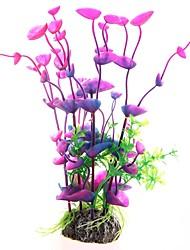 Недорогие -Аквариум Оформление аквариума Аквариум Цветы Искусственные растения пластик