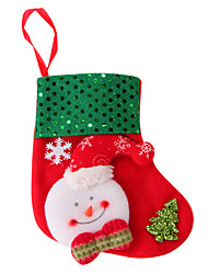 cheap -Christmas Cards and Tags / Christmas Decorations / Christmas Party Supplies Snowman Novelty Textile Gift 2 pcs