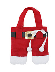 cheap -Christmas Toy Gift Bag Toy Dishes & Tea Sets Santa Suits Textile 2 pcs Toy Gift