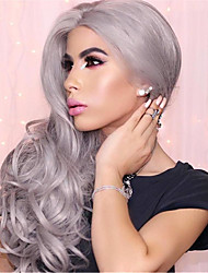 cheap -Synthetic Wig Body Wave Body Wave Wig Grey Synthetic Hair Women's Gray