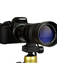 cheap -420-800mm F/8.3-16 Super Telephoto Manual Zoom Lens  T-Mount for canon DSLR