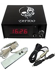cheap -Professional Digital Tattoo Power with plug cord Foot Switch