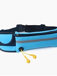 cheap -Fanny Pack Waist Bag / Waist pack Belt Pouch / Belt Bag 1 L for Running Marathon Jogging Sports Bag Waterproof Zipper Reflective Strips Phone / Iphone Waterproof Material Running Bag