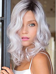 cheap -Synthetic Hair Wigs Body Wave Capless Natural Wigs