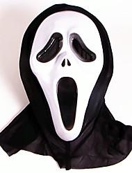 cheap -Halloween Mask Plastic PVC(PolyVinyl Chloride) Ghost Scary Scream Horror Adults' Boys' Girls'
