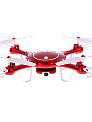 cheap -RC Drone SYMA X5UW 4CH 6 Axis 2.4G 720P RC Quadcopter LED Lights / One Key To Auto-Return / Auto-Takeoff RC Quadcopter / Remote Controller / Transmmitter / Camera / Headless Mode / 360°Rolling