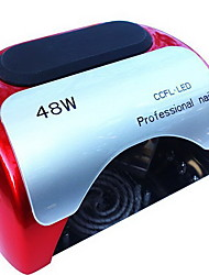 Недорогие -54 Вт Сушки для ногтей УФ-лампа Светодиодная лампа Кусачки для ногтей УФ-гель польский