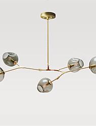 Недорогие -5-Light Мини Подвесные лампы Металл Стекло Спутник Золотой Ретро 110-120Вольт / 220-240Вольт