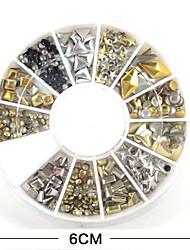 cheap -1Pcs  Nail Art Accessories Metal Rivets
