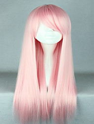 cheap -Synthetic Wig Cosplay Wig Straight Straight Wig Pink Very Long Pink Synthetic Hair Women's Pink hairjoy