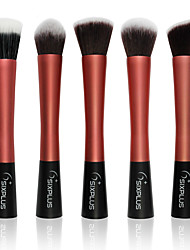 cheap -Professional Makeup Brushes Makeup Brush Set 5 Portable Professional Metal for