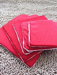 cheap -Cat Dog Mattress Pad Bed Bed Blankets Soft Pet Mats & Pads Plush Leopard Purple Red