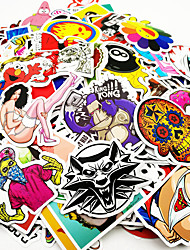 cheap -ZIQIAO Car Stickers Cartoon Full Car Stickers Characters Stickers