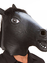 cheap -Halloween Mask Animal Mask Latex Rubber Novelty Horse Head Horror Adults' Unisex Boys' Girls'