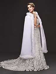 cheap -Princess Movie / TV Theme Costumes Goddess Dress Cosplay Costume Ball Gown Women's Christmas Halloween Carnival Festival / Holiday Woolen Velvet White Women's Carnival Costumes Solid Colored / Cloak