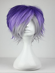 cheap -Synthetic Wig Cosplay Wig Curly Curly Wig Short Blue Synthetic Hair Women's Blue hairjoy