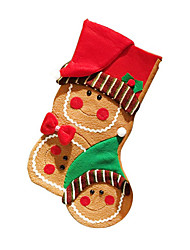cheap -Christmas Decorations Gift Bags Christmas Textile Plastic