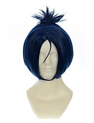 cheap -hitman reborn rokudou mukuro ink blue mixed blue halloween wigs synthetic wigs costume wigs Halloween