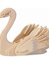 cheap -Wooden Puzzle Wooden Model Swan Professional Level Wood 1 pcs Kid's Adults' Boys' Girls' Toy Gift