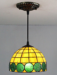 cheap -25W Pendant Light ,  Traditional/Classic / Tiffany / Retro Painting Feature for Mini Style Glass Living Room / Entry