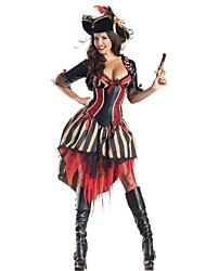 cheap -Pirate / Movie / TV Theme Costumes Cosplay Costume Sexy Uniforms Women's Black Terylene Cosplay Accessories Halloween / Carnival Costumes / Hat