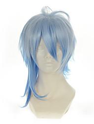 cheap -amnesia ikki white mixed blue versatile turned alice halloween wigs synthetic wigs costume wigs Halloween