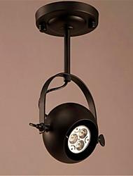 cheap -Flush Mount Ambient Light Electroplated Metal Mini Style, LED, Designers 110-120V / 220-240V Bulb Included / E26 / E27