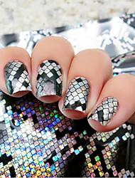cheap -4cmx100cm holographic nail foils snake skin foils nail art transfer foil transfer sticker