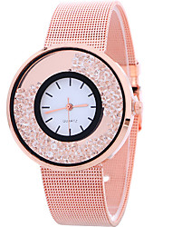cheap -Women's Ladies Wrist Watch Quartz Silver / Gold / Rose Gold Casual Watch Cool Analog Casual Fashion - Gold Silver Rose Gold One Year Battery Life / SSUO LR626