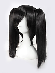 cheap -kagerou project ene black bunches actor halloween wigs synthetic wigs costume wigs Halloween