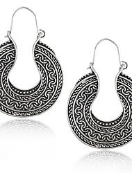 cheap -Women's Drop Earrings Hoop Earrings Earrings Jewelry Silver For Party Daily Casual