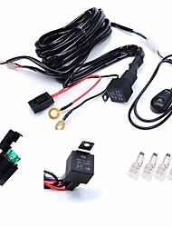 Недорогие -KAWELL 1 шт. Проводное подключение Автомобиль Лампы 180 W Аксессуары Назначение Универсальный Все модели 2018