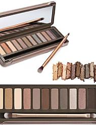 cheap -Eyeshadow Palette Mascara Dry Matte Shimmer Glitter Shine smoky Waterproof Fast Dry Long Lasting Thick