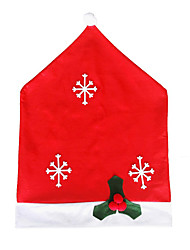 cheap -Christmas Chair Back Cover Decoracion Navidad Hat Christmas Decorations for Home Dinner Table Premium Year Xmas Chair cover