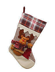 cheap -Christmas Toy Santa Suits Elk Snowman Textile Toy Gift 3 pcs
